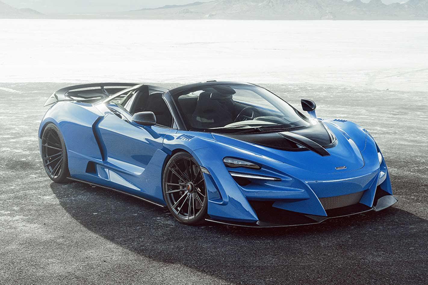 Novitec McLaren 720S Spider N-Largo revealed