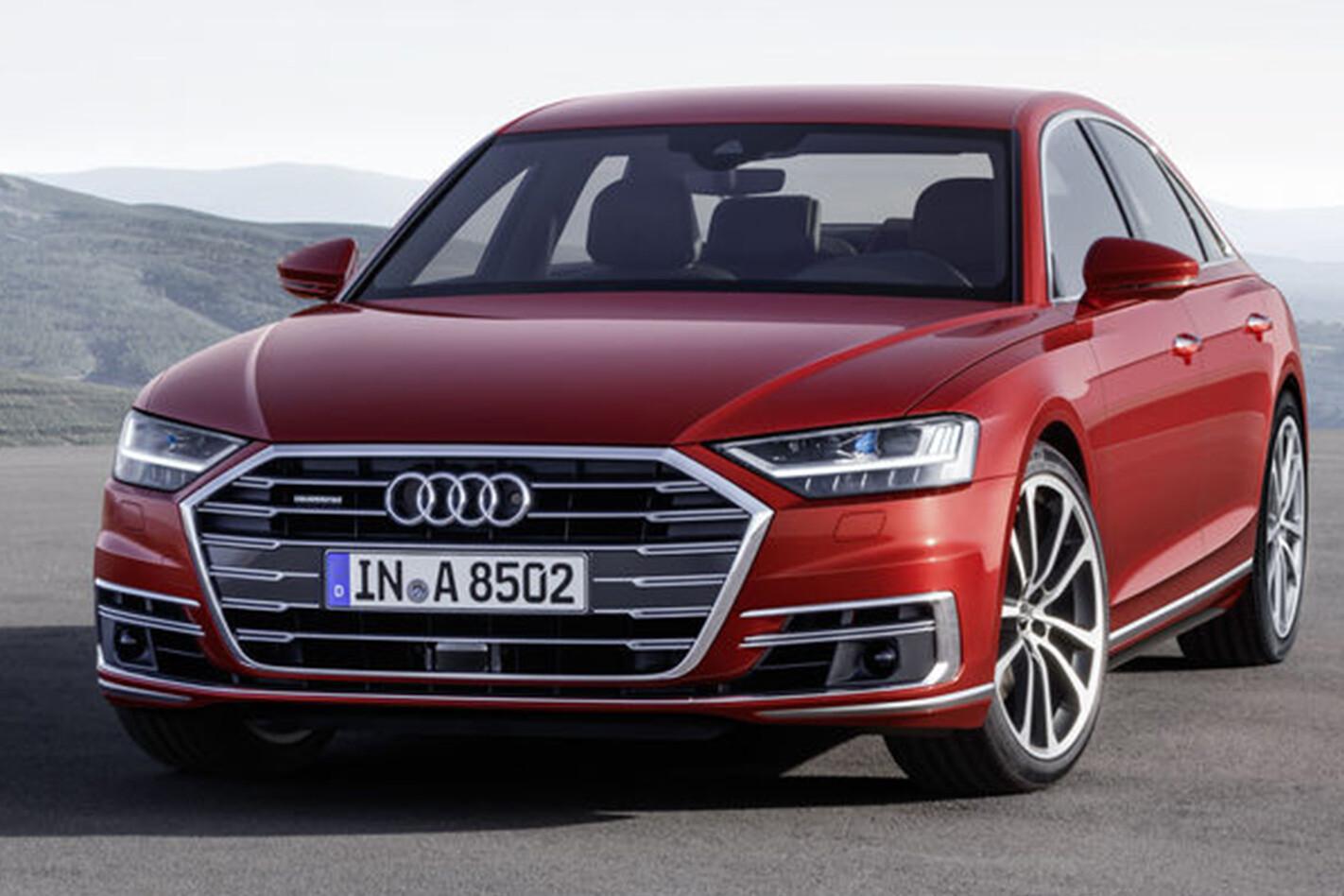 2018 Audi A8 front facing
