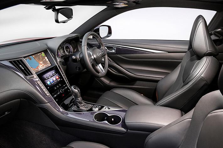 Infitini Q 60 Red Sport Interior Front Seats Jpg