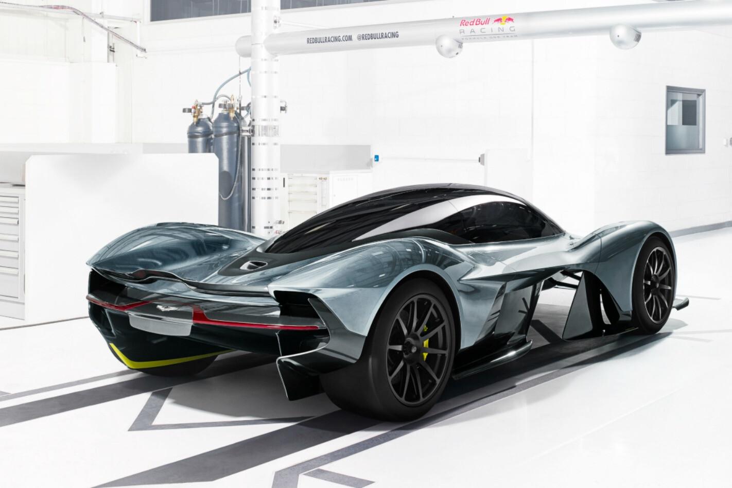 Aston Martin AM-RB 001 Rear Main