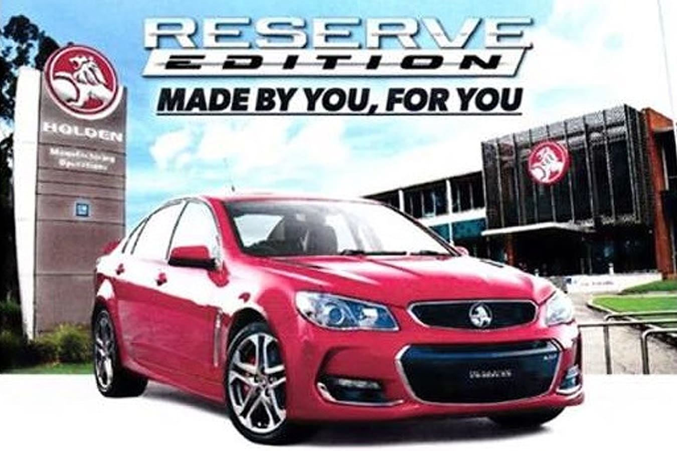 Holden Commodore Reserve edition