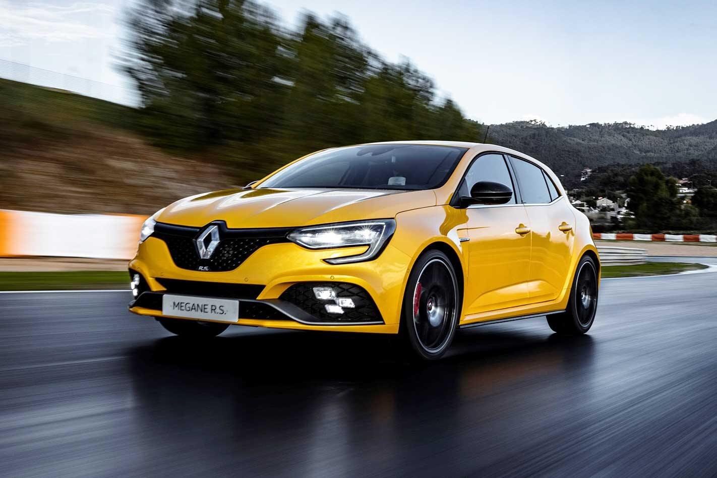 2019 Renault Megane RS 300 Trophy Performance Review Jpg