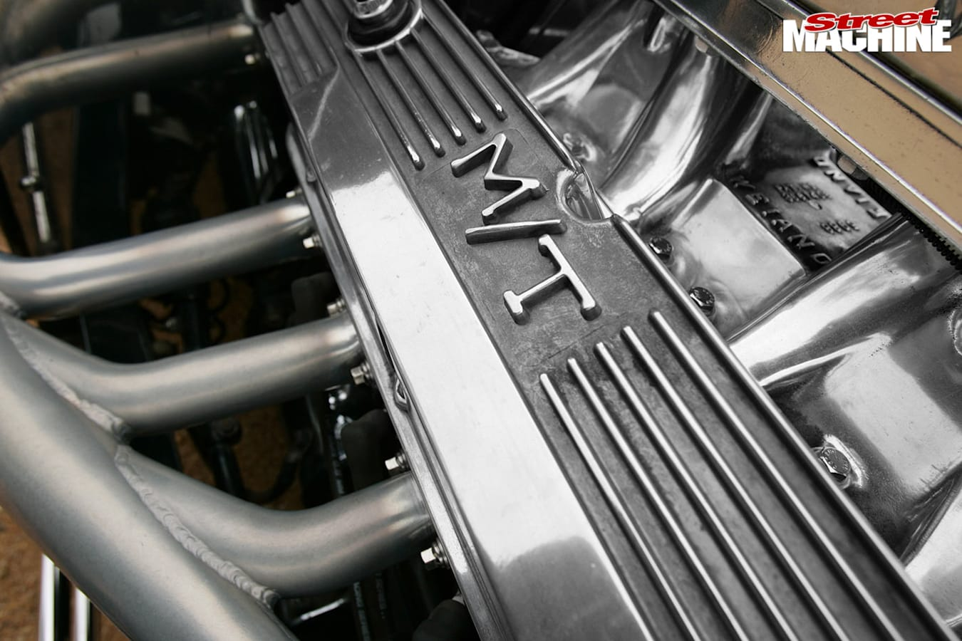 Ford coupe engine