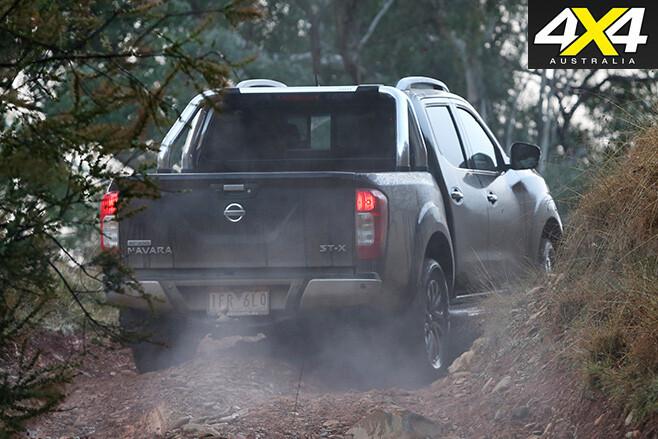 Nissan -navara -rear