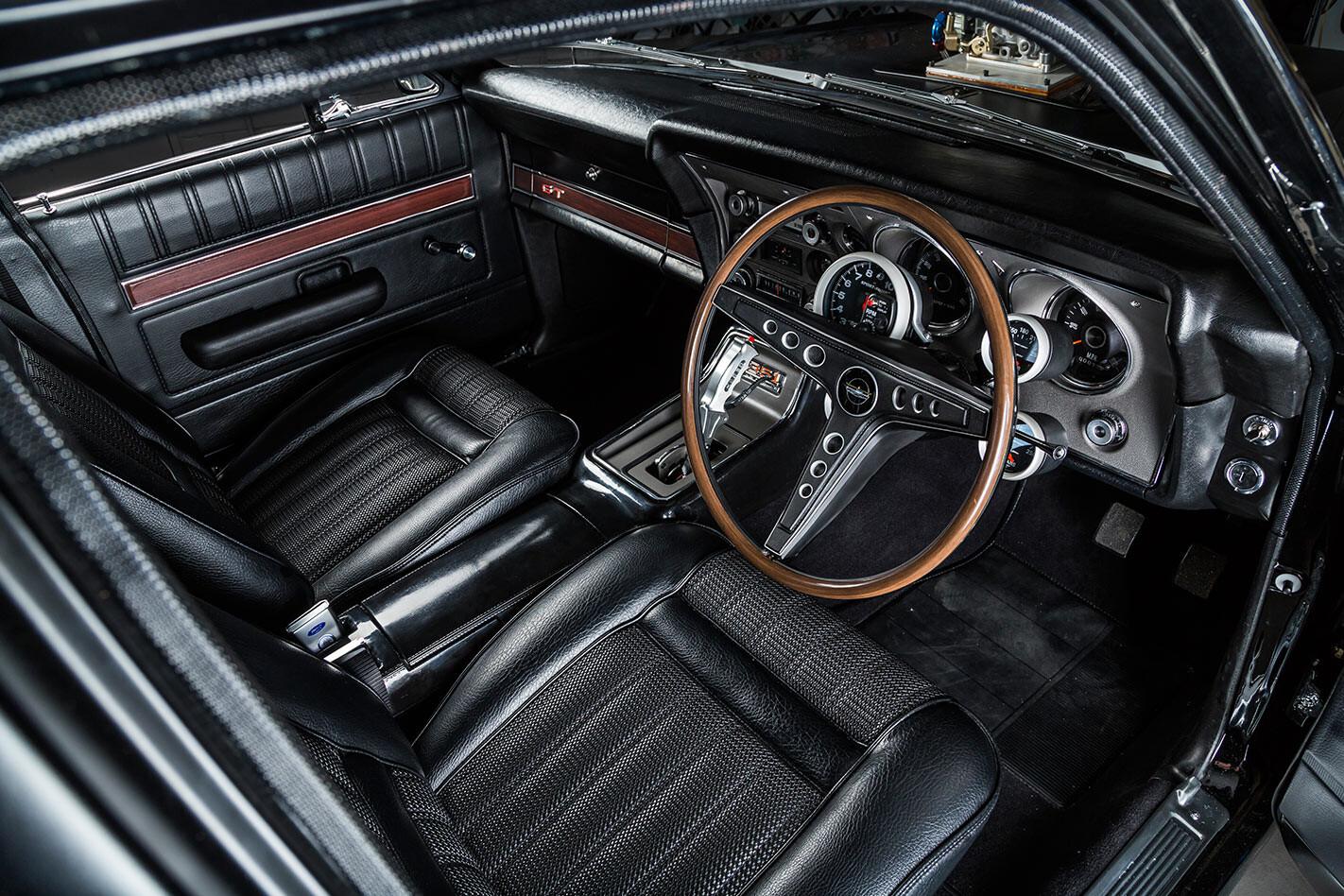 Ford Falcon XY interior front