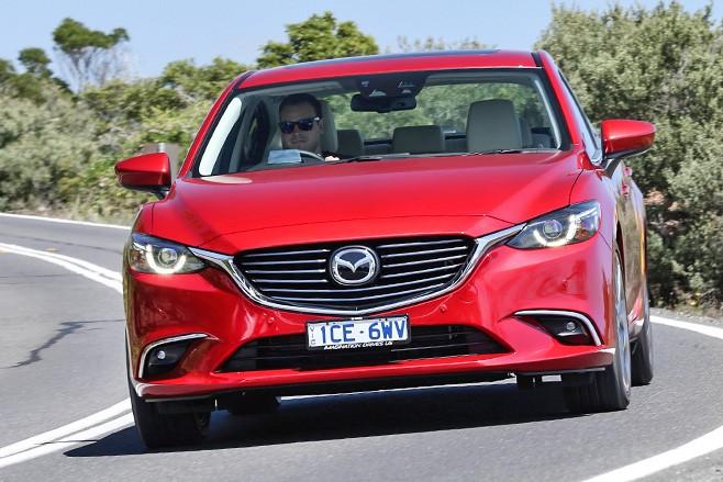 Mazda 6 Front Driving