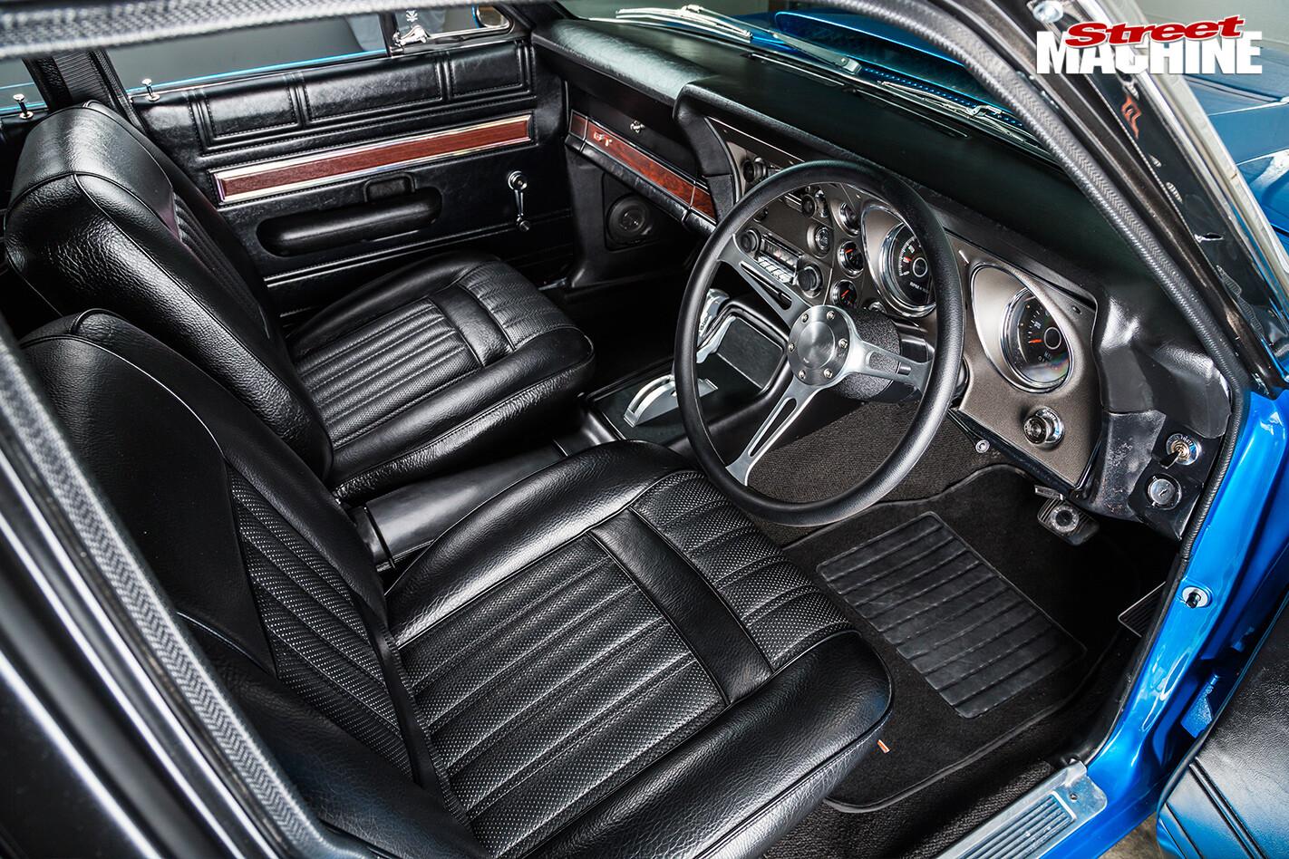Ford -falcon -xy -gt -interior