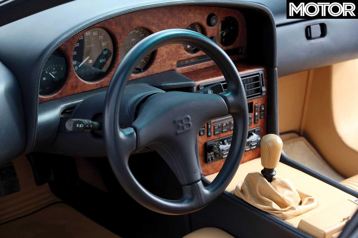 1991 Bugatti Eb 110 Interior Jpg