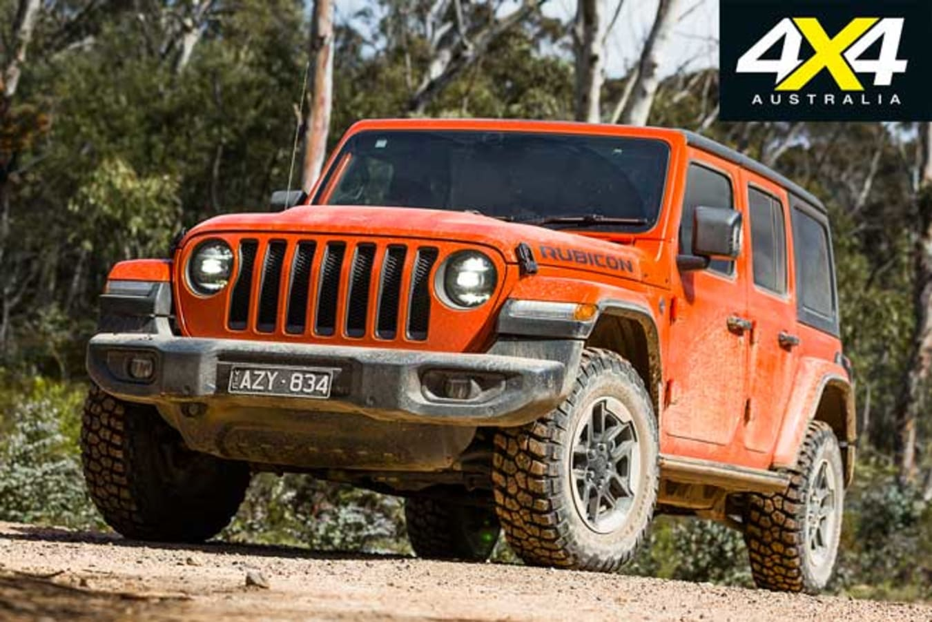 2020 4 X 4 Of The Year Jeep Wrangler Rubicon Front Jpg