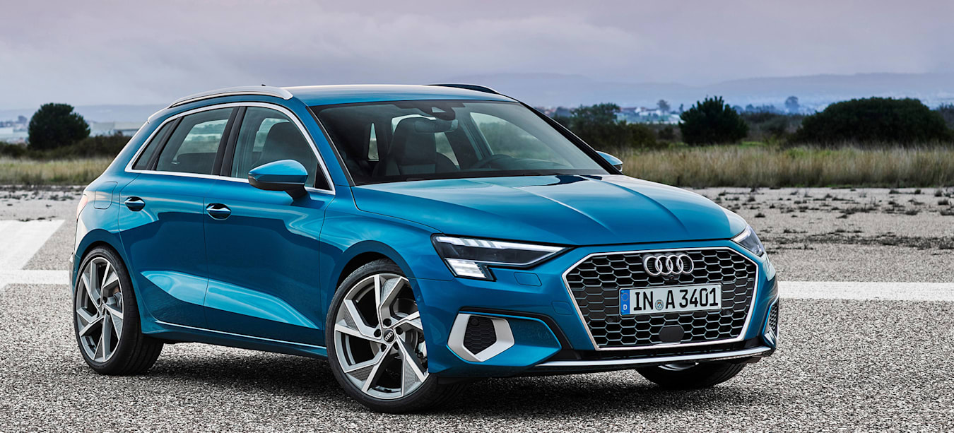 Audi A3 Sportback breaks cover with muscular new look