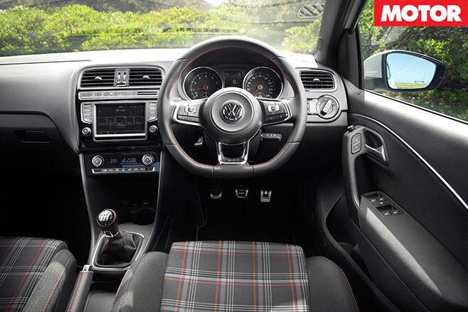 2016 Volkswagen Polo GTI interior