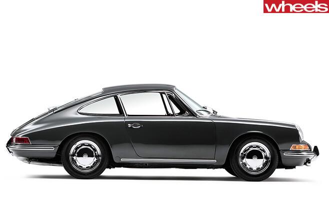 1964-Porsche -911-side -profile