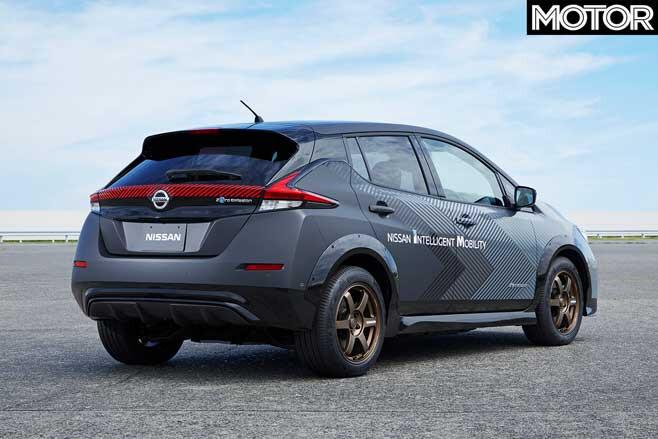 Nissan Leaf 227 K W Hot Hatch Test Bed Rear Jpg