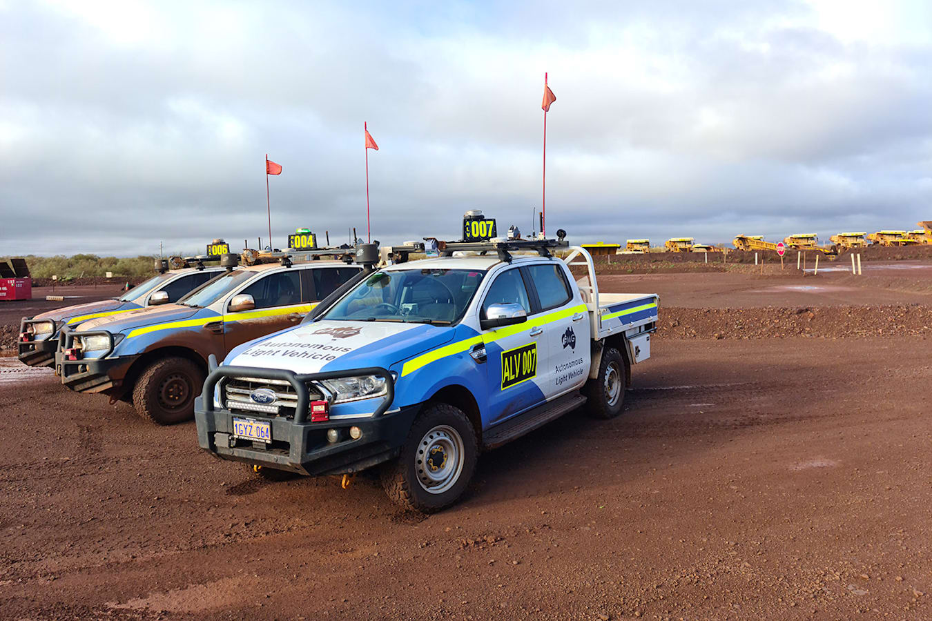 Fortescue Metals Group driverless ford ranger