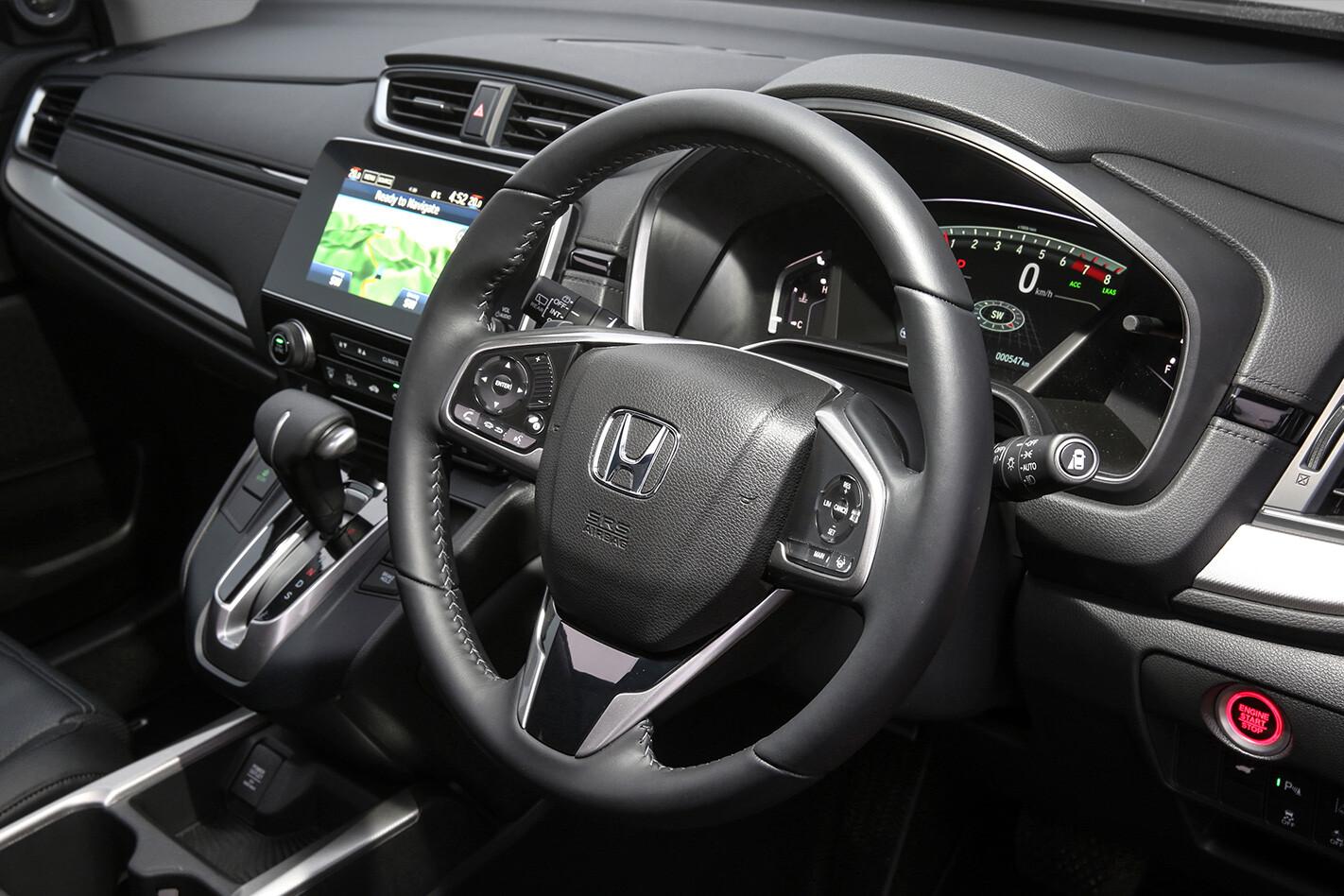 Honda Crv Interior Jpg