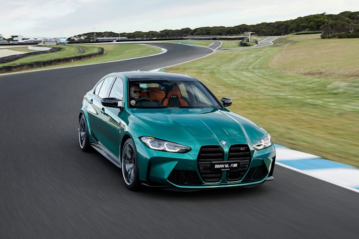 2021 BMW M 3 Competition Main Jpg