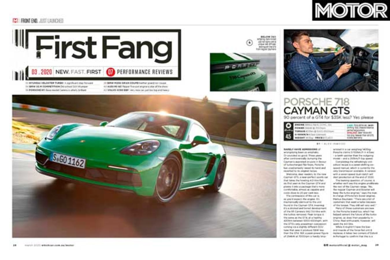 MOTOR Magazine March 2020 Issue First Drive Jpg