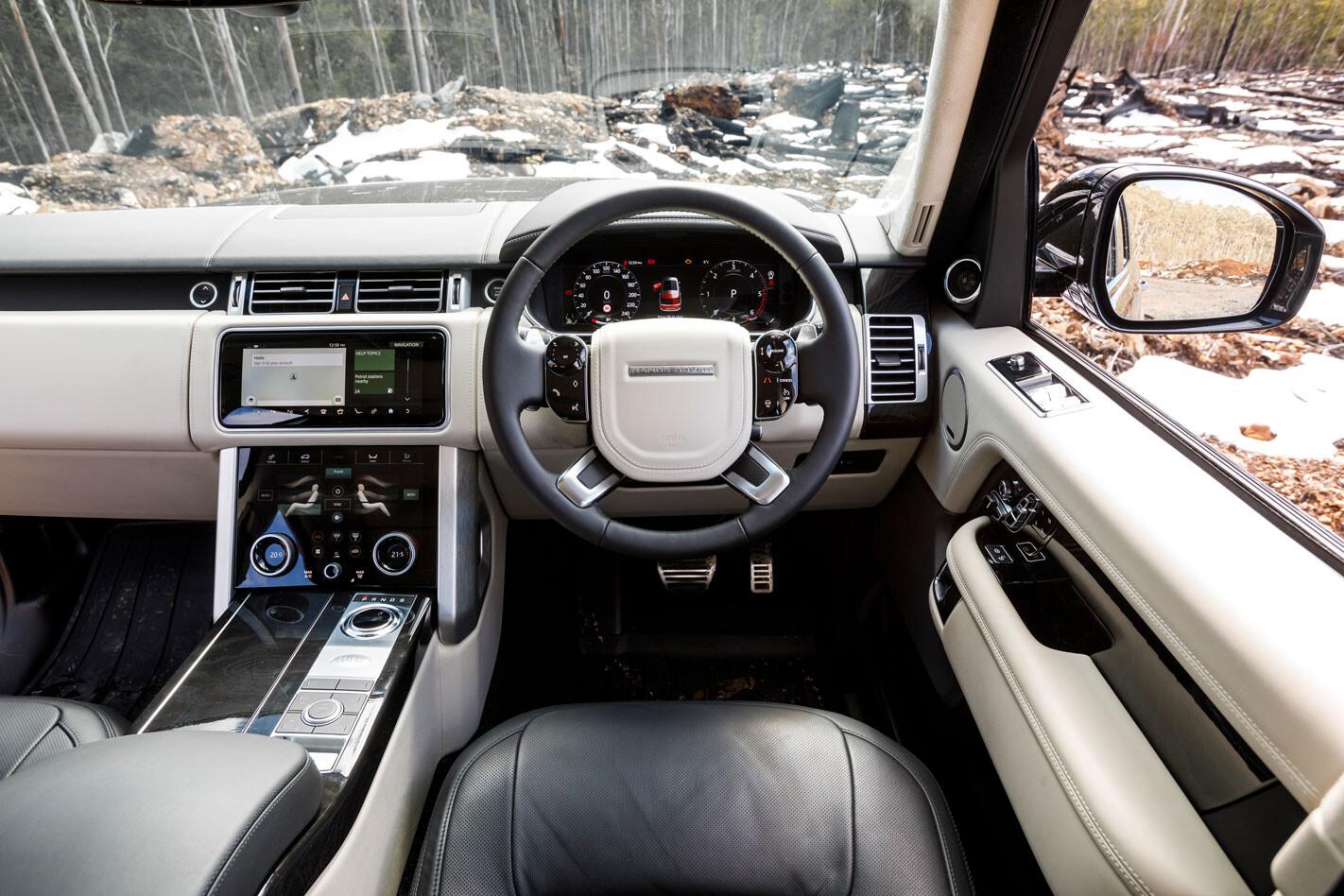 2018 Range Rover SDV8 interior