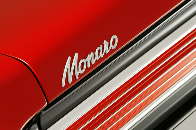 Holden HK Monaro badge