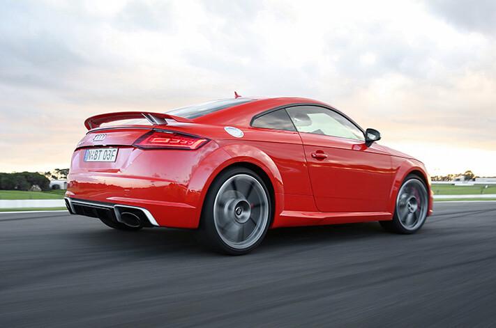 Audi TTRS Rear Quarter Jpg