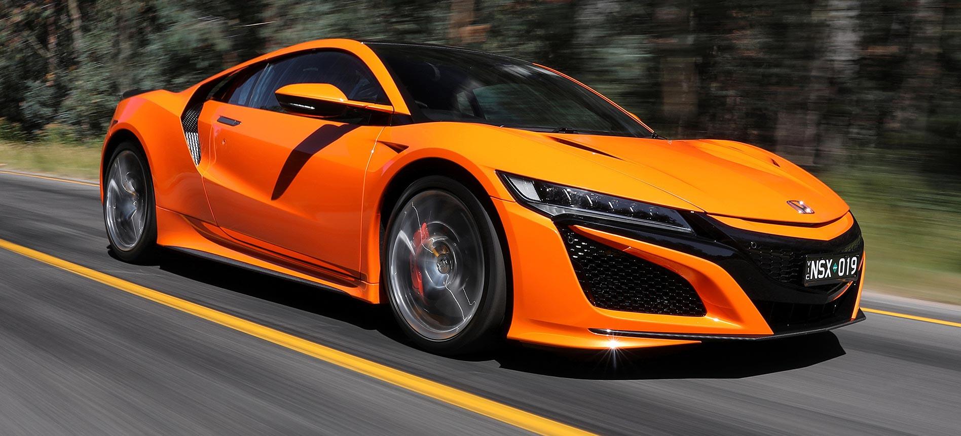 Honda NSX review feature