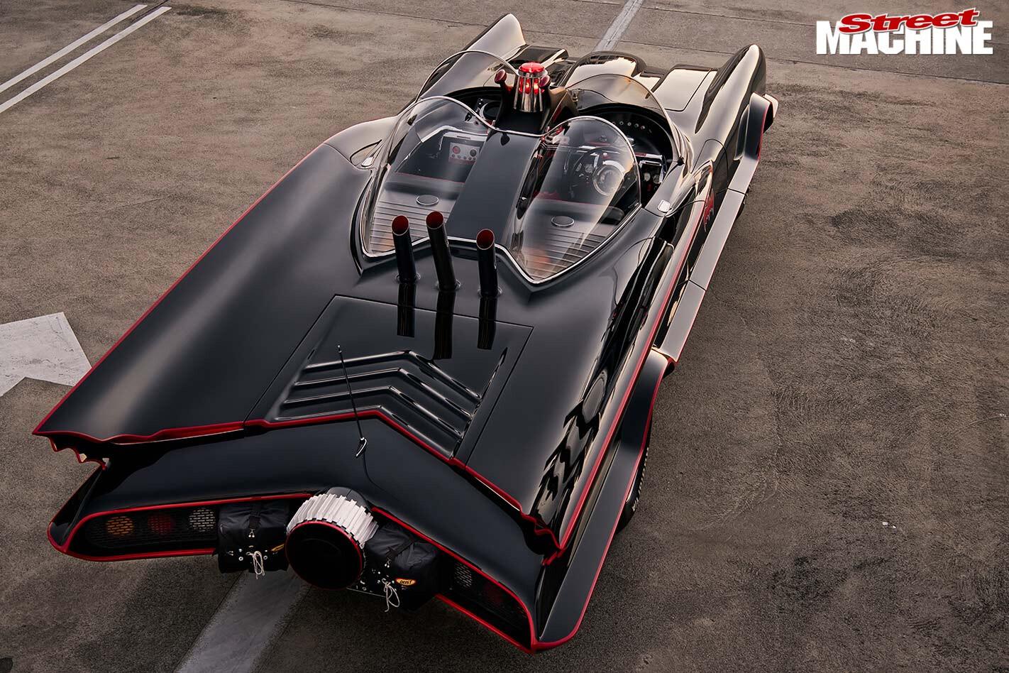 Lincoln Continental Batman tribute