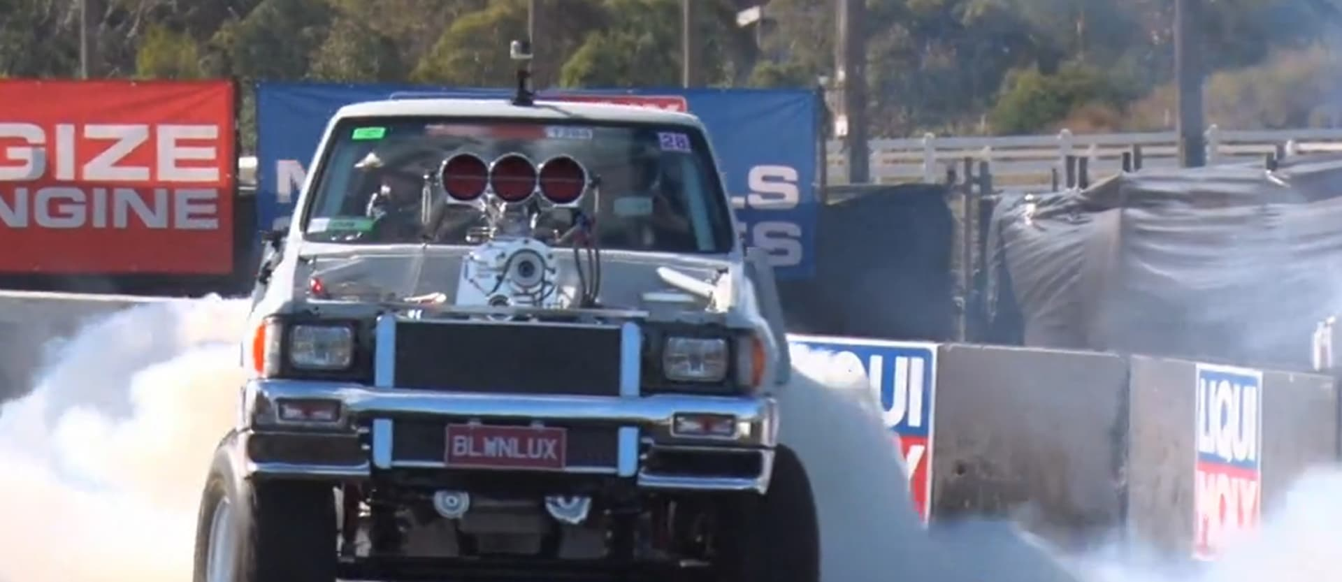 Burnout Masters Qualifying Summernats 28 2015