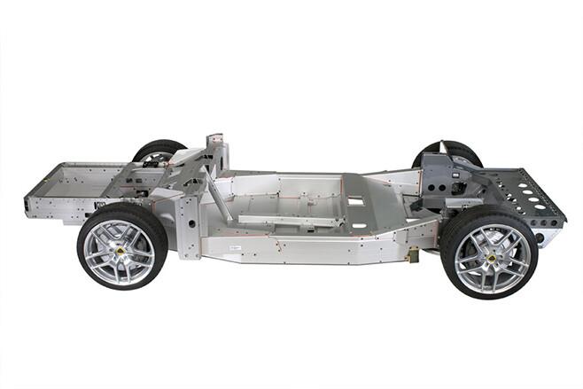 Lotus Evora Aluminium tub