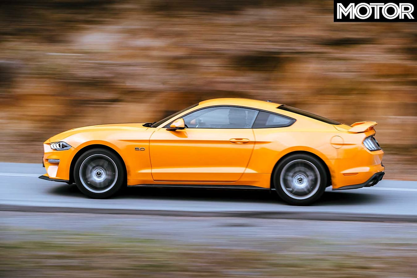 2018 Ford Mustang GT Performance Side Profile Jpg