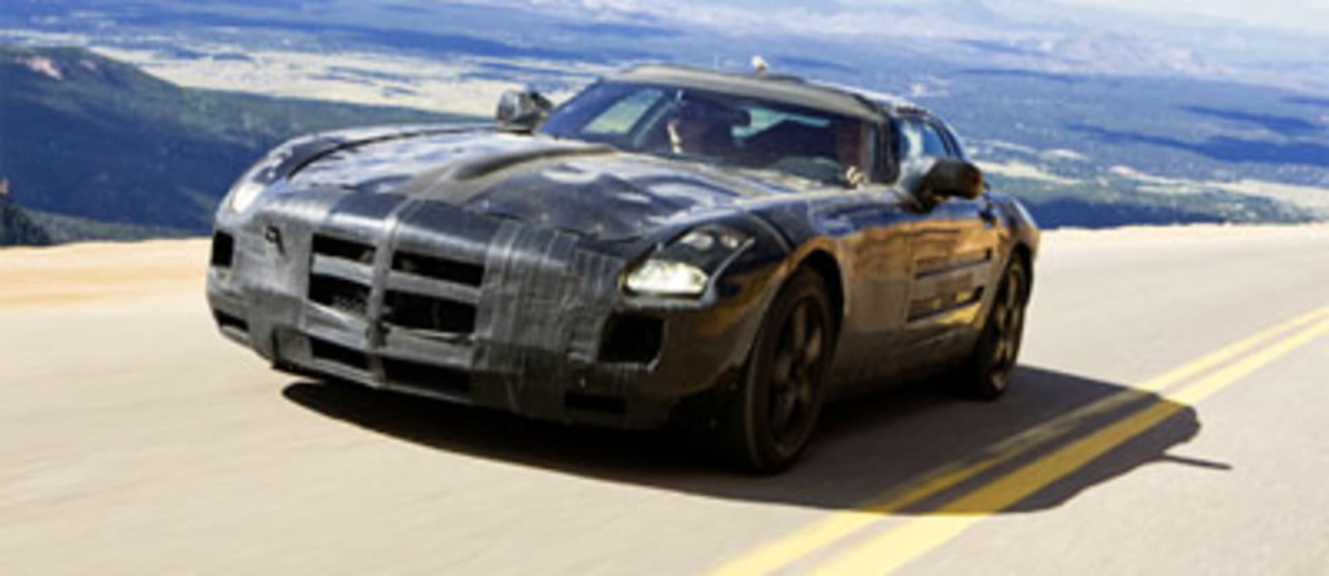 SLS AMG gets its wings