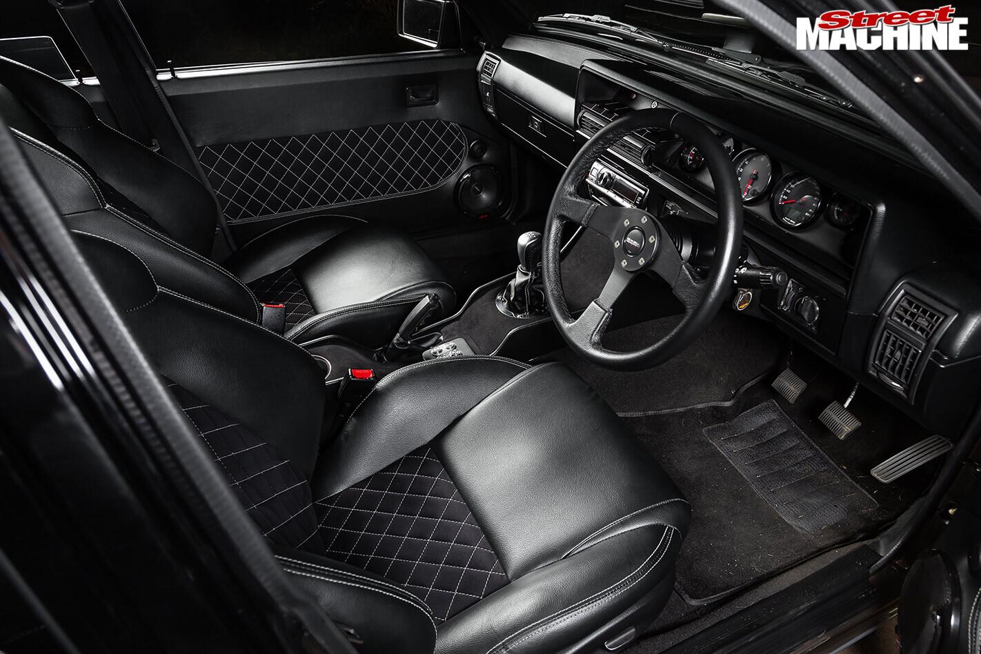 Holden VK Commodore interior