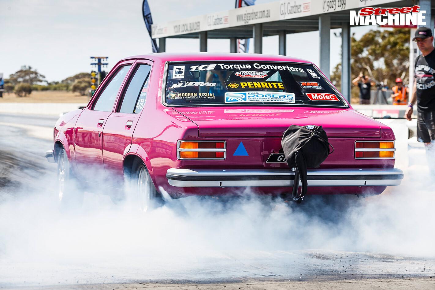 Holden LH Torana at Drag Challenge