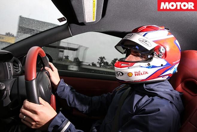 Tony D driving the gt-r