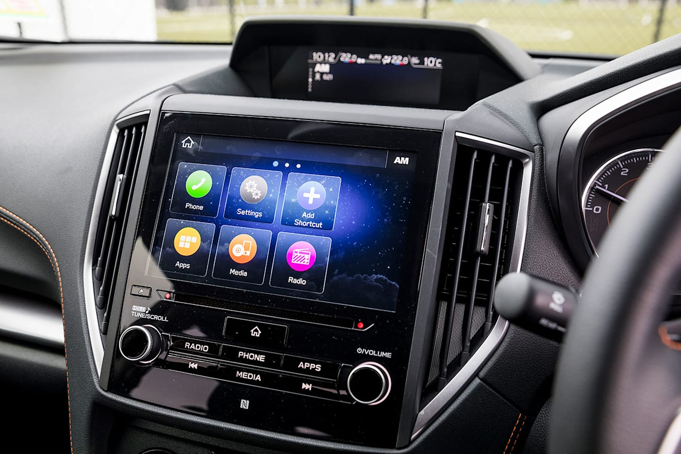 Ford Focus Active infotainment system