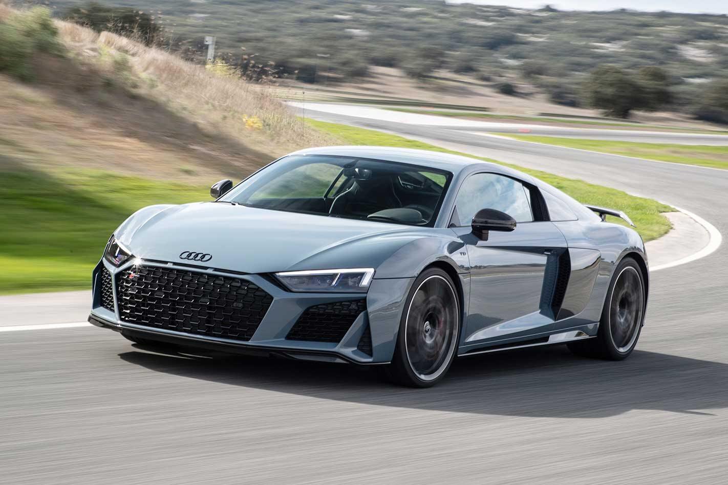 Audi RS3 R8 Australia return 2020