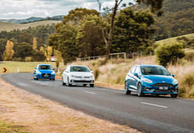 ford fiesta st vs volkswagen polo gti vs suzuki swift sport