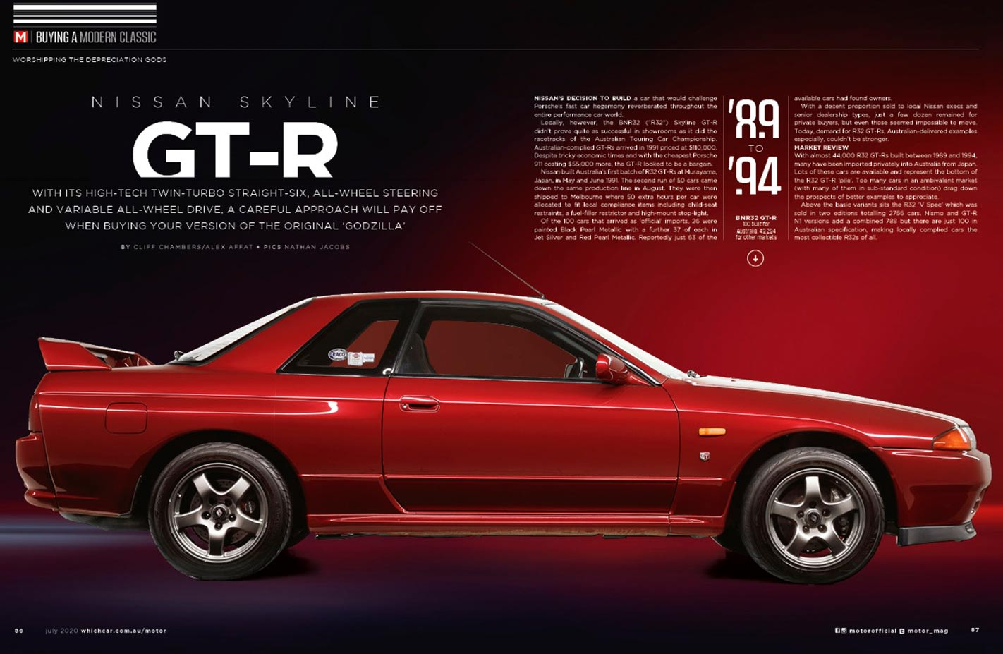 Nissan R32 GT-R buyers guide