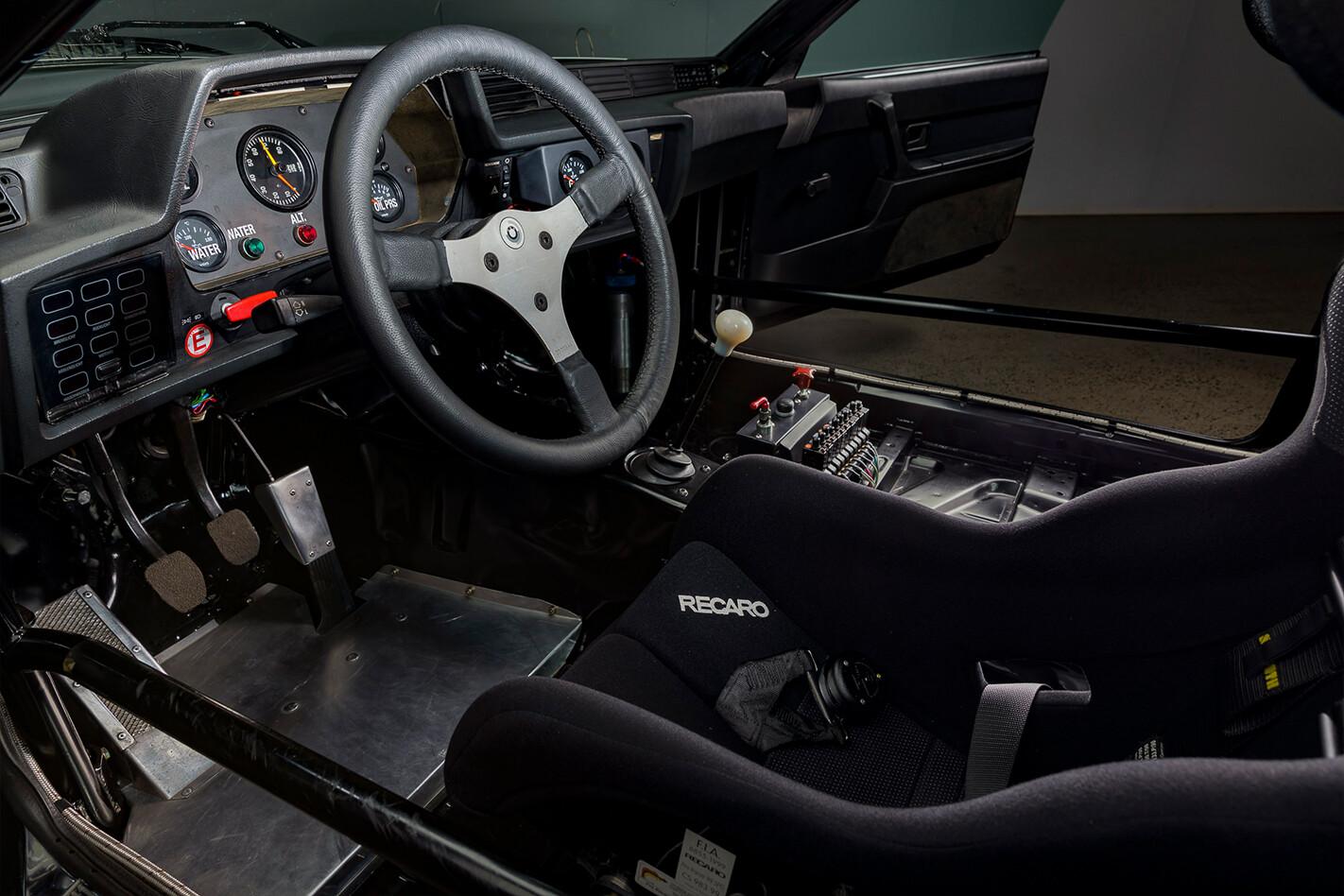 Jim Richards BMW 635 Group A Interior Jpg