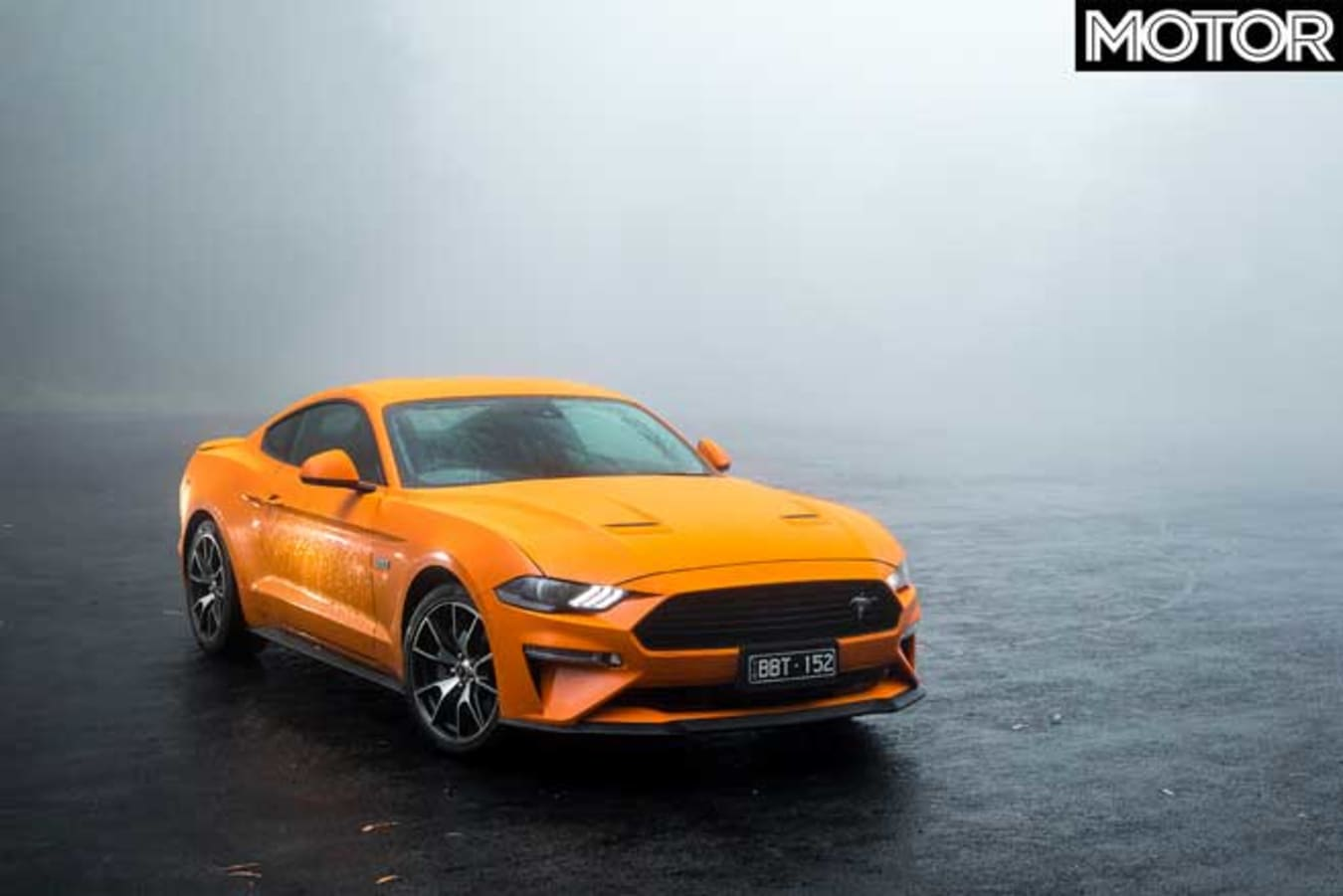 2020 Ford Mustang High Performance Front Jpg