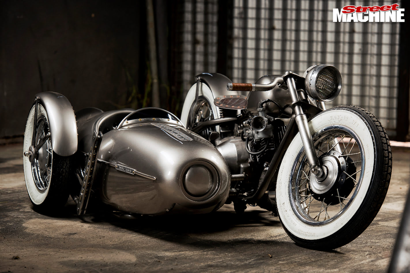 bobber with sidecar
