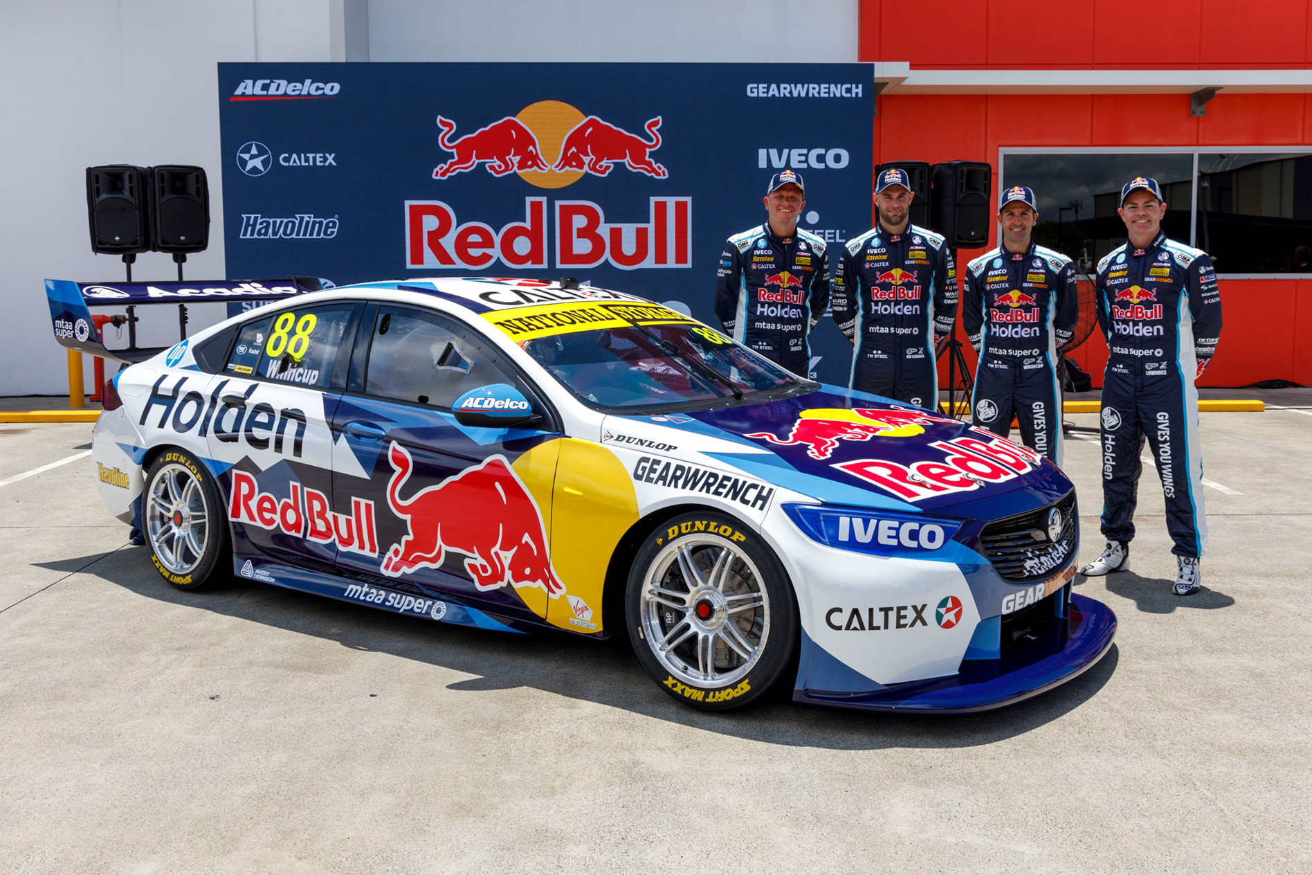 Supercars 2020 Red Bull Holden Racing