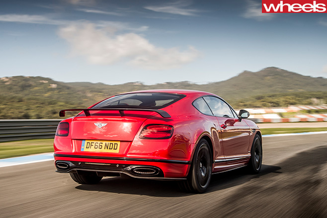 2017-Bentley -Continental -Supersports -rear