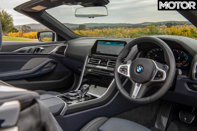 2019 BMW M850i Convertible interior