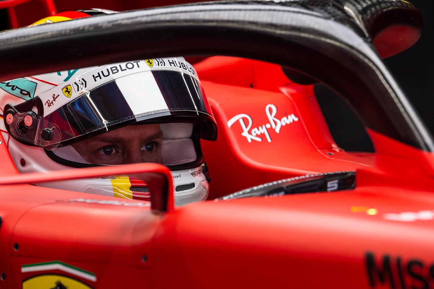 Vettel To Leave Ferrari Helmet Jpg