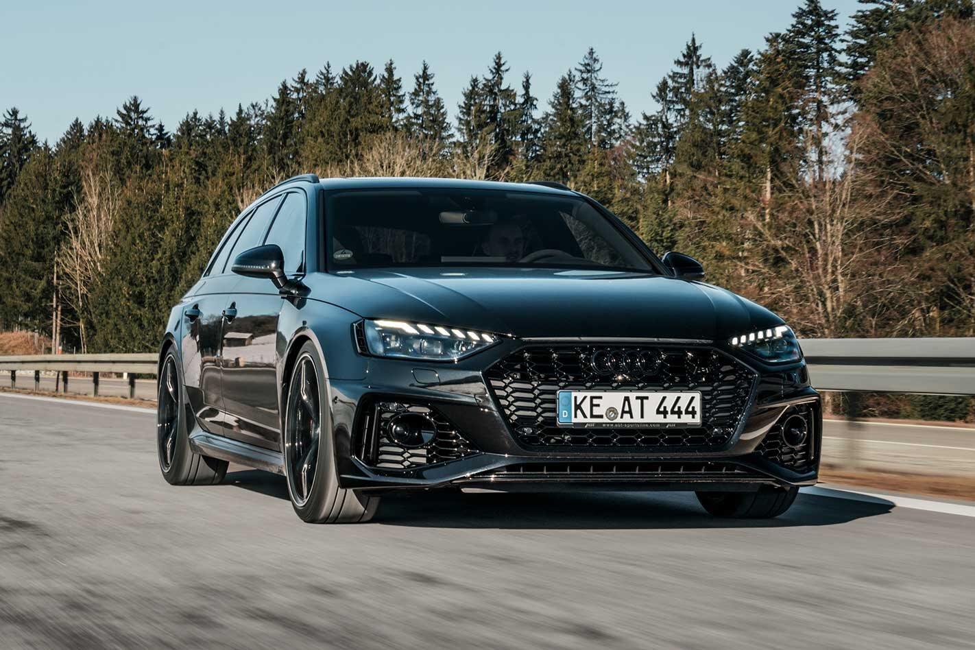 ABT Audi RS4 revealed