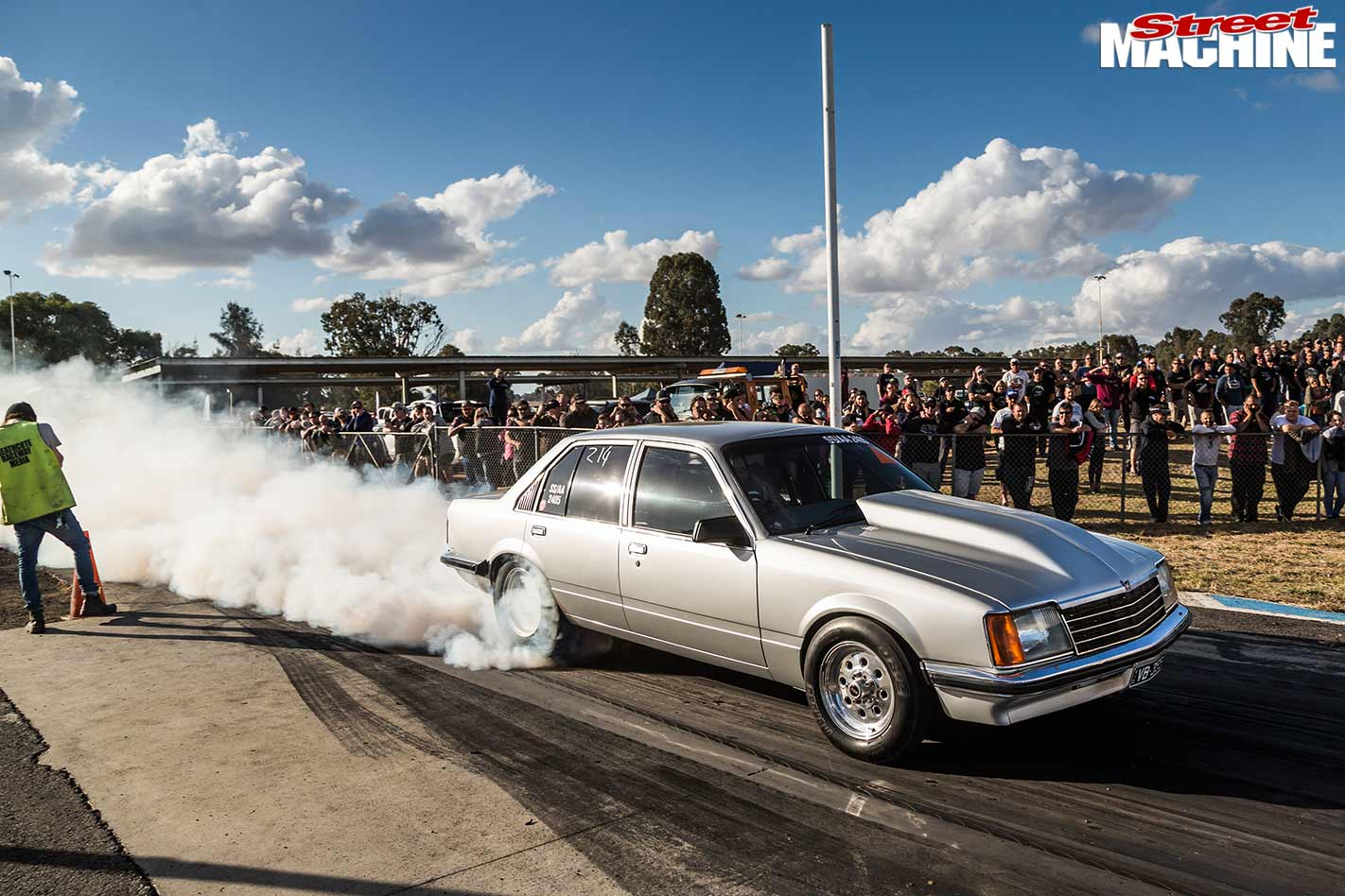 Scott Foreman's VB Commodore at Holden Nationals