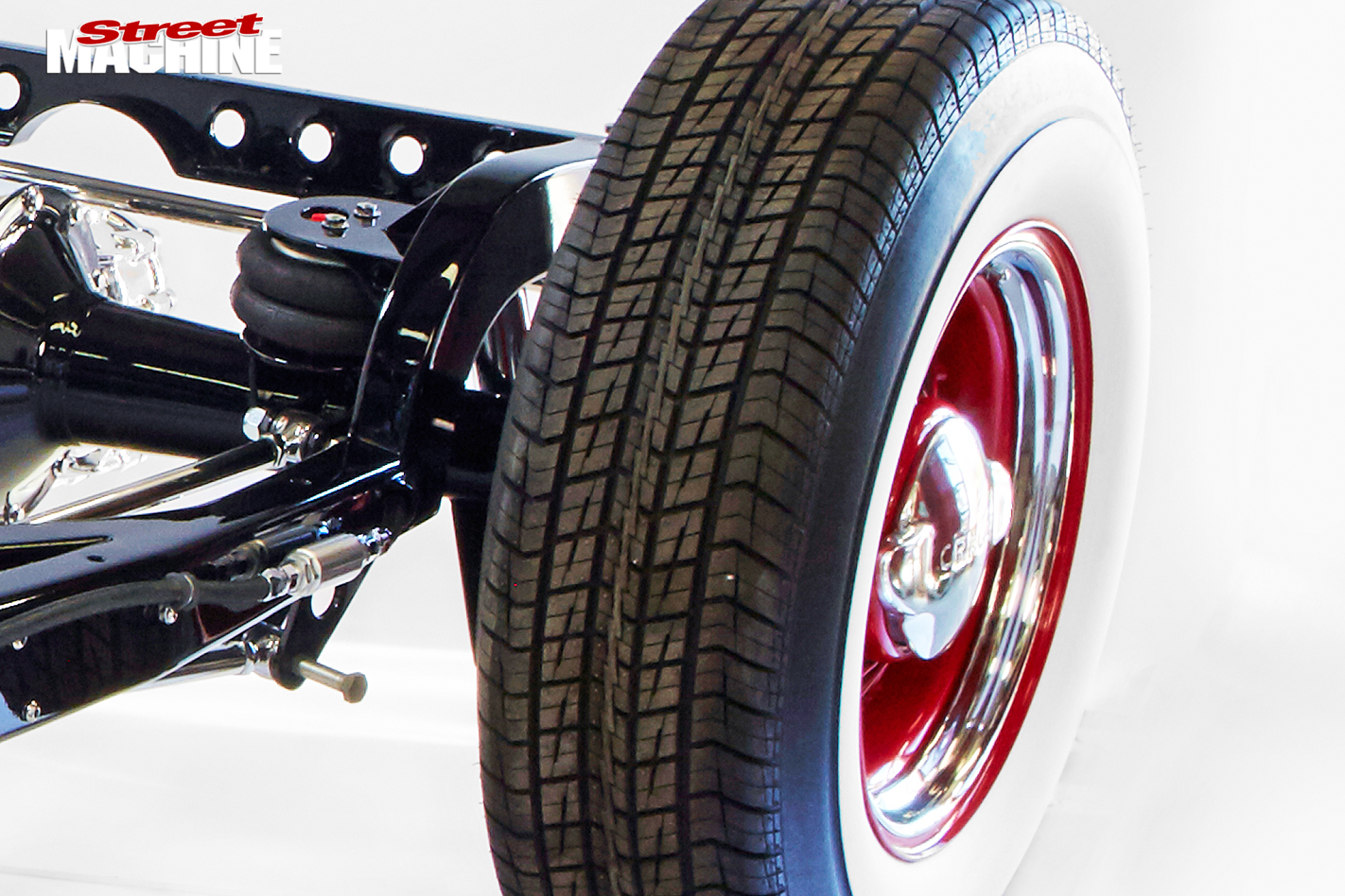Ford -model -a -chassis -wheel