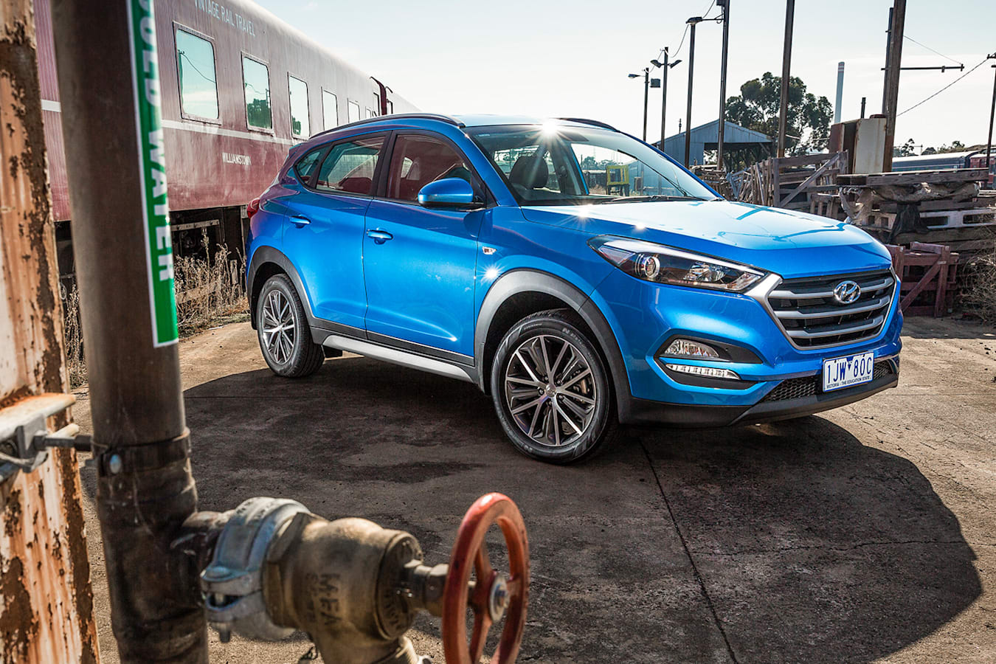 2018 Hyundai Tucson Active X Qtr Jpg