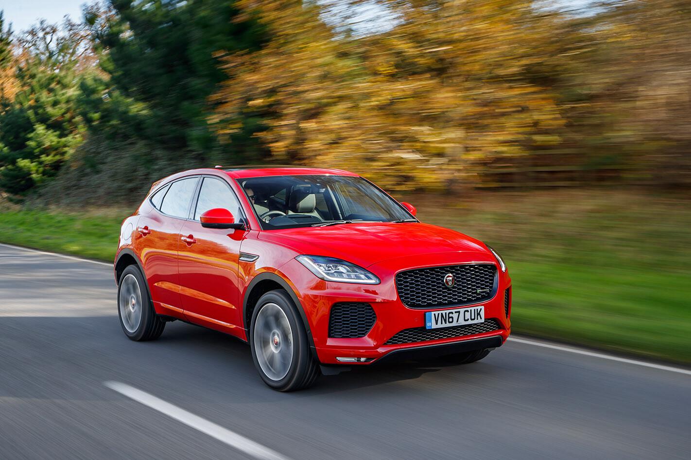 Jaguar E-Pace quick review