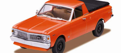 Rare 4WD Falcon honoured by Trax
